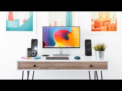 Simple Modern Desk Setup for Students!