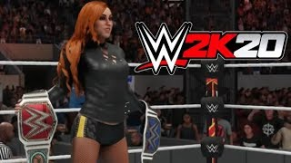 Lets Play WWE 2K20 - ROBLOX Gamplay