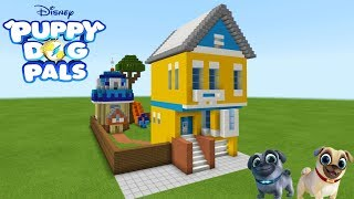 Minecraft: How To Make Bingo And Rollys House