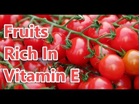 Top 10 Fruits Rich In Vitamin E