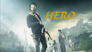 Walking Dead Tribute; Skillet- Hero
