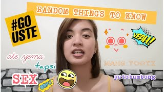 RANDOM THINGS TO KNOW ABOUT UST  Philippines