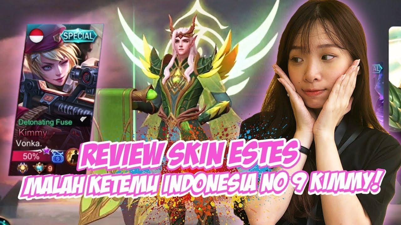 LAGI REVIEW SKIN ESTES... KETEMU MUSUHNYA INDONESIA NO 9 KIMMY :(