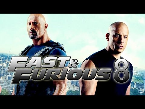Fast And Furious F8MOVIE REVIEW - Behind The Scenes- The Fate Of The Furious-Vin Diesel