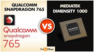 mediaTek Dimensity 1000 vs Snapdragon 765  Quick Comparison  Who wins?