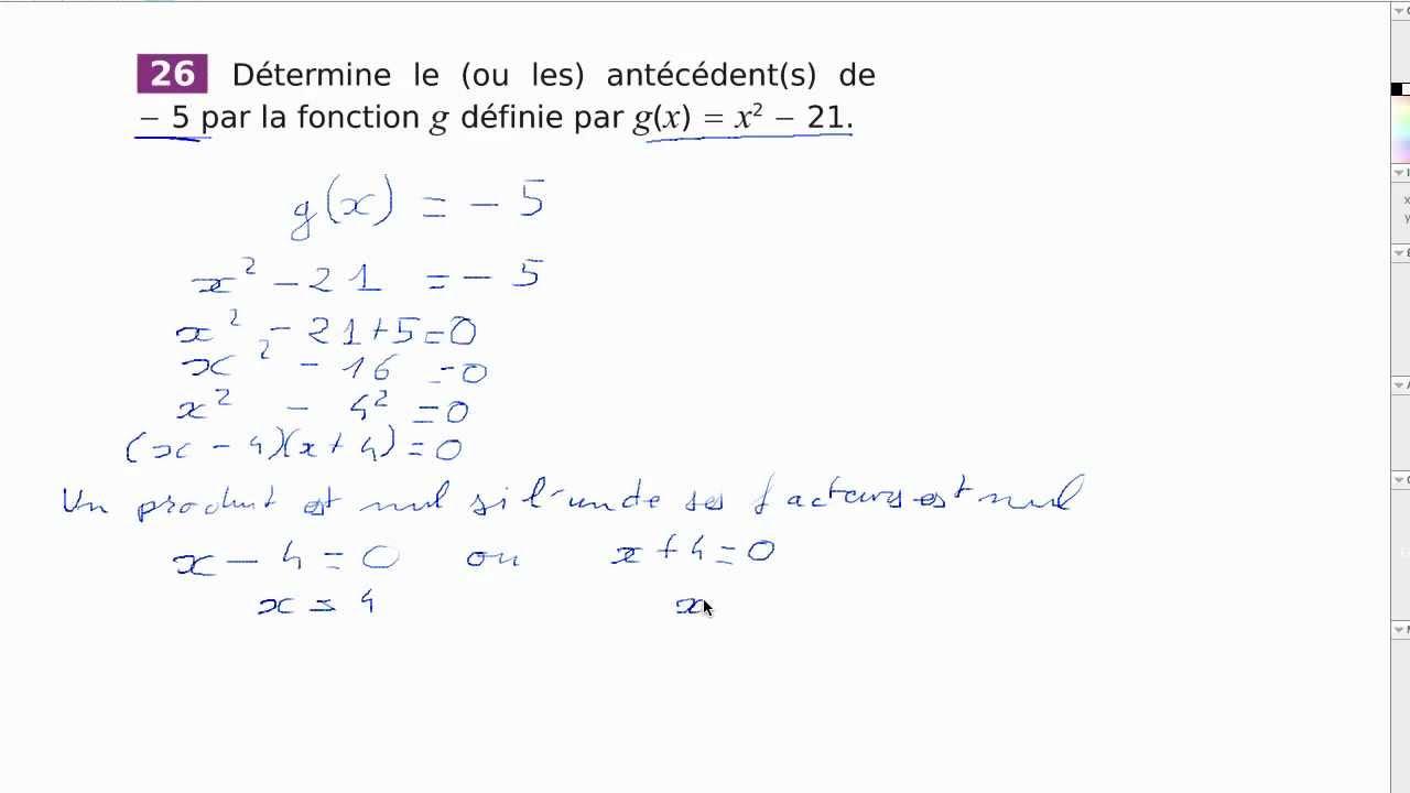 Calcul d 39 ant c dent d 39 un nombre par une fonction youtube - Calcul nombre de parpaing ...