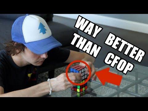 BETTER Alternatives to the CFOP Rubik's Cube Method