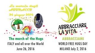 It world hug days 2016 - la marcia degli abbracci italy and all over the