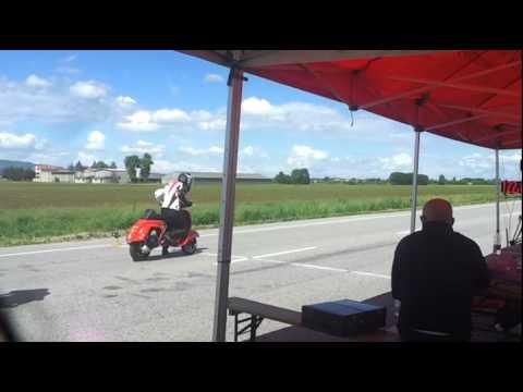 C4 Vicenza accelerazione Vespa 2013 by egig