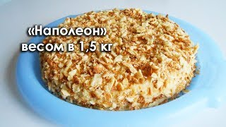 Торт Наполеон: рецепт
