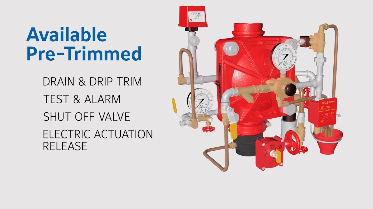 DV-5A Deluge Valve | Tyco Fire Protection Products