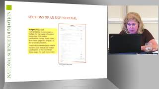 Sections of an NSF Proposal: The Budget: Part 1