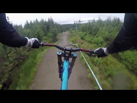 Downhill MTB GoPro footage through Scottish Highlands