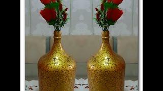 Baixar Transforme um garrafão de vinho em um lindo jarro!!!
