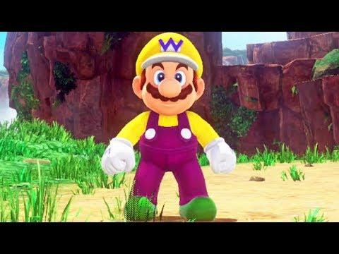 Super Mario Odyssey #25: Consegui virar o Wario e pequei mais de 100 Power Moons!