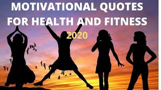 Motivational quotes for health and fitness (2020)