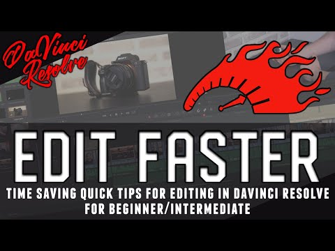 Edit faster in DaVinci Resolve with these 6 time saving quick tips