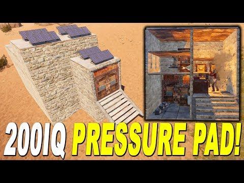 200IQ PRESSURE PAD TRAP BASE! - ELECTRICITY TRAP - Rust Trap Base Design 2018