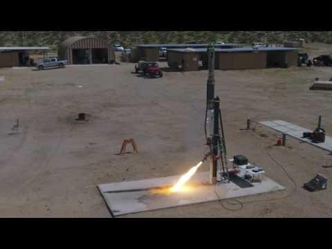 SDSU Rocket Project Static Hot Fire C
