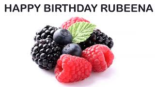 Rubeena   Fruits & Frutas - Happy Birthday