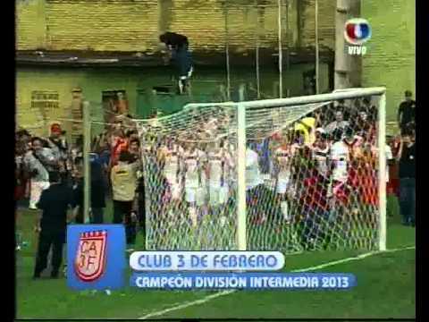 Teledeportes - Intermedia 2013 - 3 de Febrero Campeon