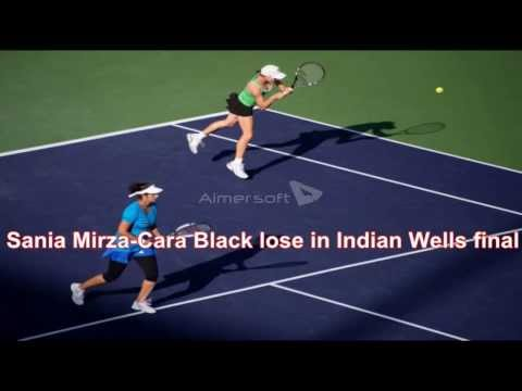 BNP Paribas Open | News for sania mirza - cara black lost the final