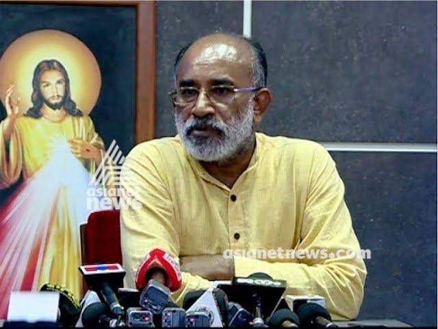 Alphons Kannanthanam on allegations against Bishop