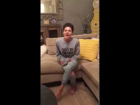 Dancing on My Own Cover - Robyn - Caly Bevier