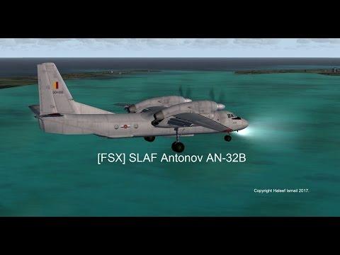 (FSX) Sri Lanka Air Force Antonov AN-32B