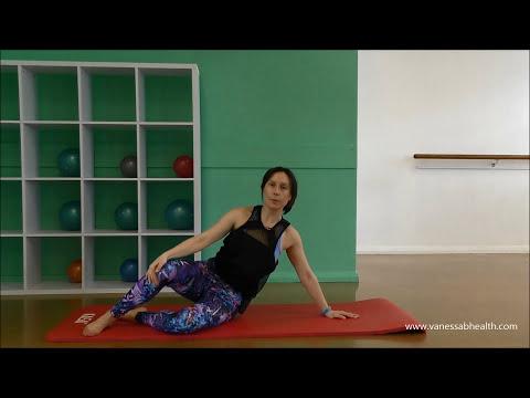 25 minute intermediate Pilates workout & arm sculpting