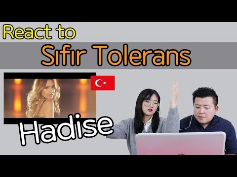 Hadise - Sıfır Tolerans Reaction [Koreans React] / Hoontamin