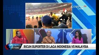 Ricuh Suporter di Laga Indonesia VS Malaysia [DIALOG]