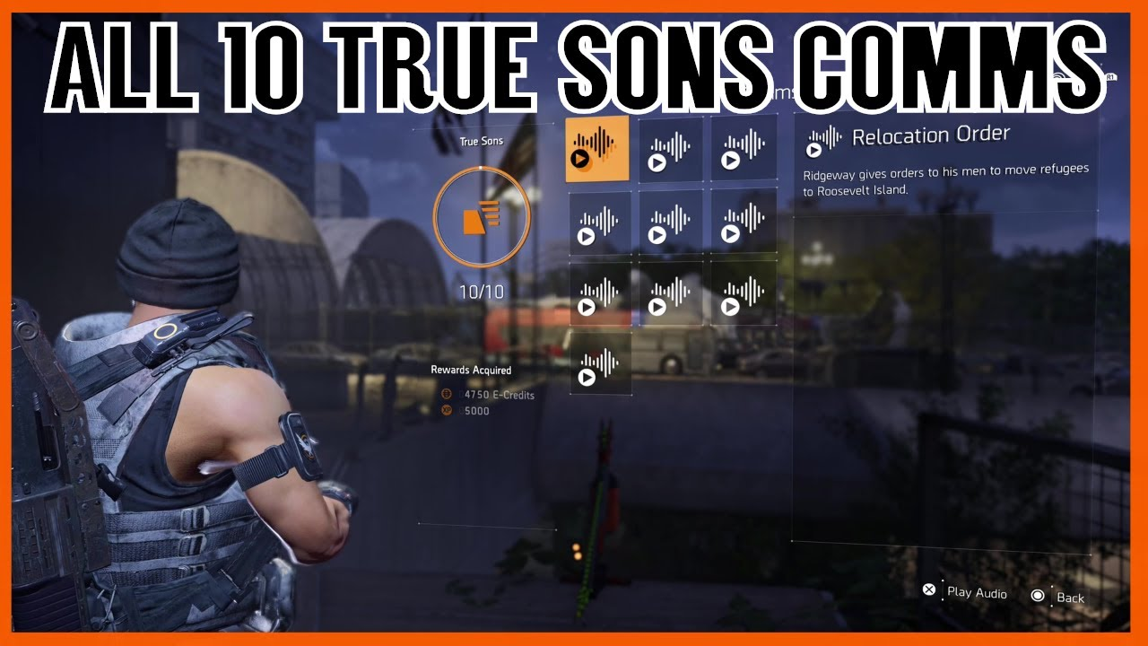 The Division 2 All True Sons Comms Locations (Division 2 Comms Collectibles)