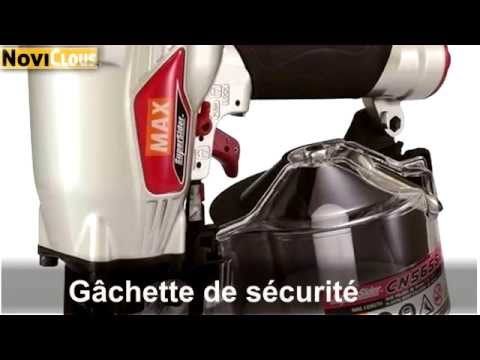 NOVICLOUS - VIDEO Cloueur rouleaux MAX CN565S2