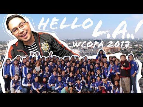 WCOPA TEAM PHILIPPINES 2017 -  Goodbye Manila! Hello LA!