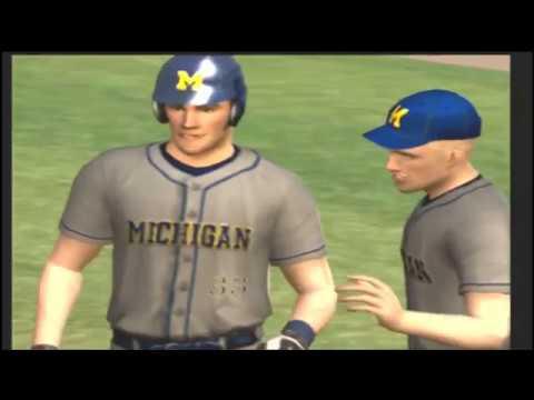 (Vanderbilt Vs Michigan) College World Series Game 1 (MVP 07 NCAA Baseball)