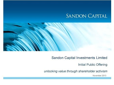 Meet the Manager - Sandon Capital Activist Investors & Geoff
