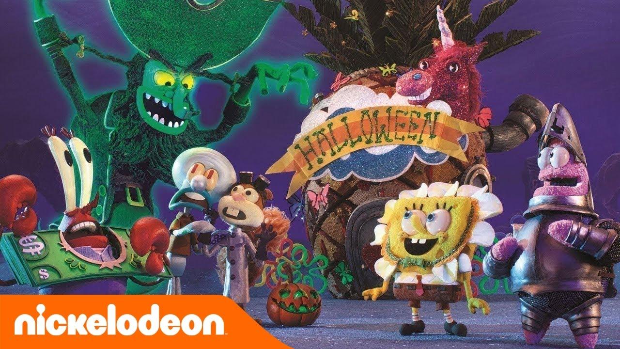 Halloween Filmpjes Nederlands.Spongebob Squarepants Halloween In Boe Kini Broek Nickelodeon Nederlands