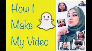 How I Make My Video🤓 Bangla Funny Snapchat Video by Rainy SongBird