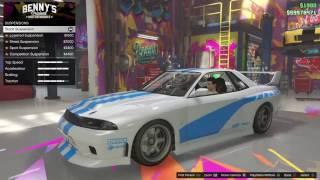 GTA 5 DLC Vehicle Customization (Elegy Retro Custom)
