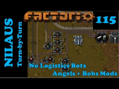 Factorio S6E115 - Uranium and Plutonium partitioning in Uranium Power