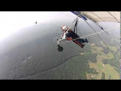 Hang Gliding In Chattanooga, Tennessee, May 2014 - Terri