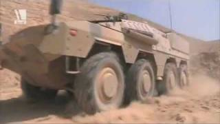 Boxer Afghanistan MRAV multirole wheeled armoured vehicle German army bundeswehr.de Video