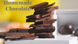 ചോക്ലേറ്റ് ഇനി വീട്ടിൽ തന്നെ || Easy Tasty Homemade Chocolate  ||Ep:673
