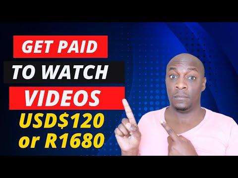 Make Money Online In South Africa Watching Videos