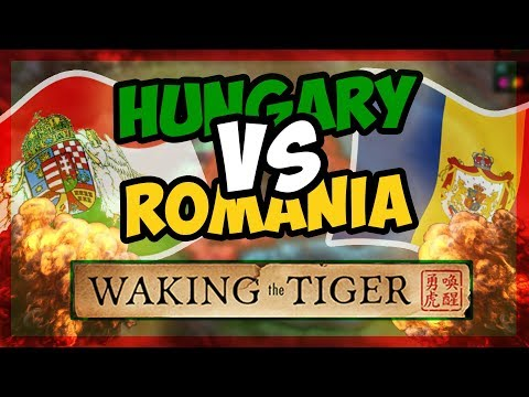 HOI4 | Waking The Tiger - Hungary and Romania Fight for Transylvania! [Hearts of Iron 4] |