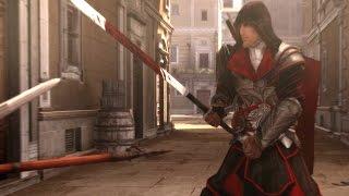 Assassin's Creed Brotherhood Drachen Armor & Spada Lunga Finishing Moves/Counter Kills