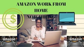 $100,000+ Amazon Work at home FULL TIME job ??