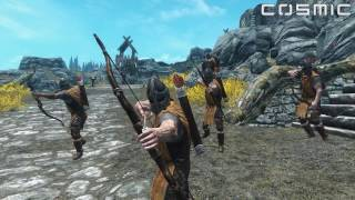 SKYRIM BATTLE #5 - 1000 Draugr VS. Whiterun (Siege of Whiterun)