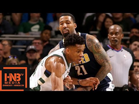 Denver Nuggets vs Milwaukee Bucks Full Game Highlights / Feb 15 / 2017-18 NBA Season
